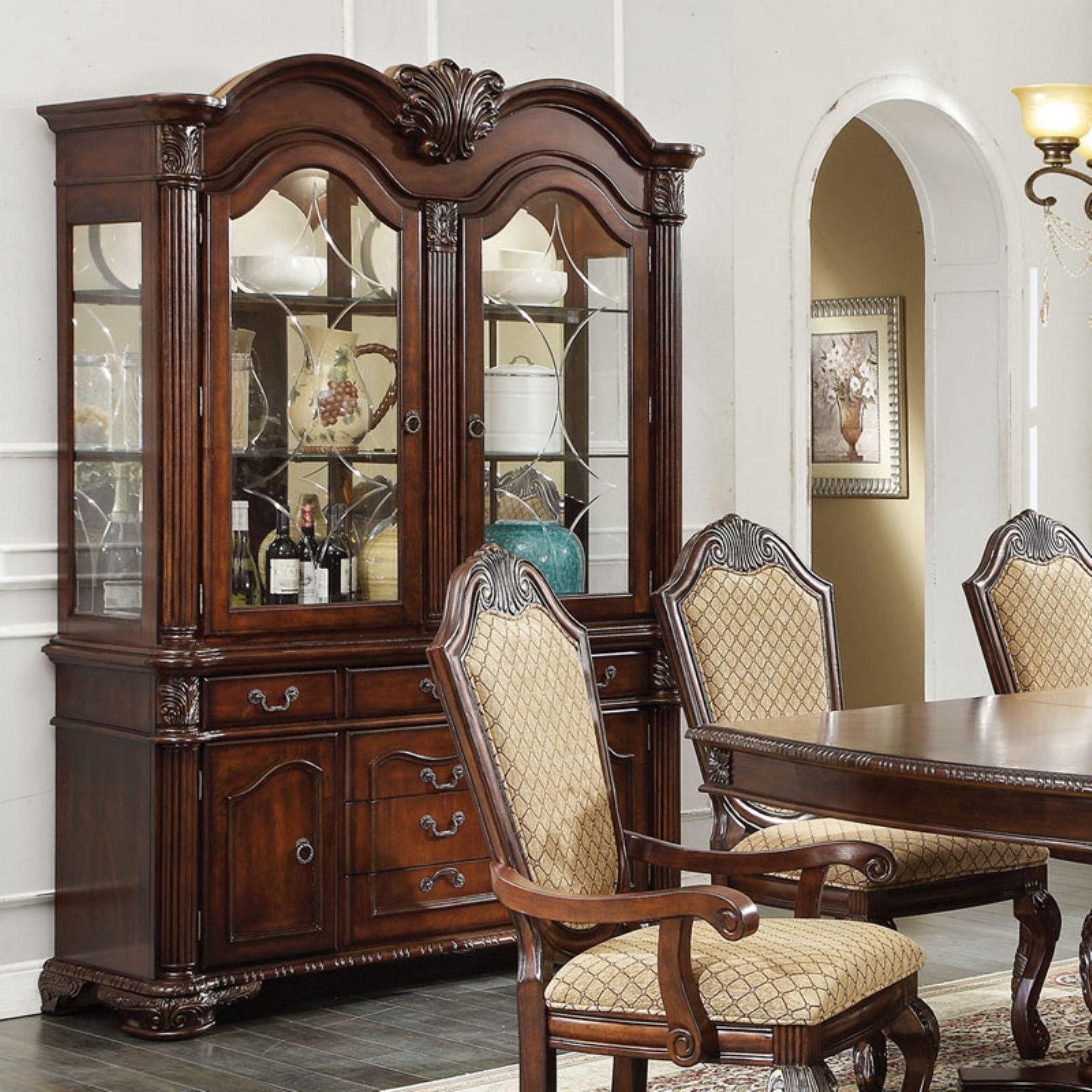 Acme Furniture Chateau De Ville China Cabinet by