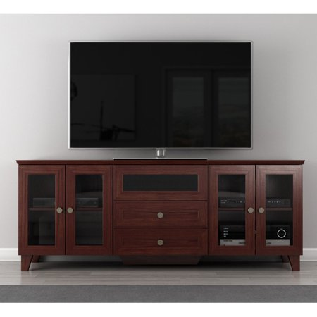 furnitech shaker 70 inch tv stand. Black Bedroom Furniture Sets. Home Design Ideas