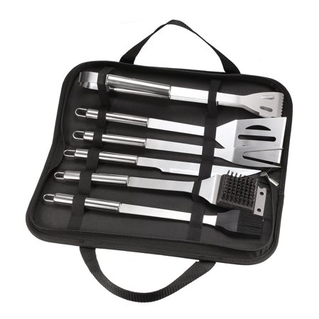 Bbq Grill Tool Set 6 In 1 Stainless Steel Barbecue