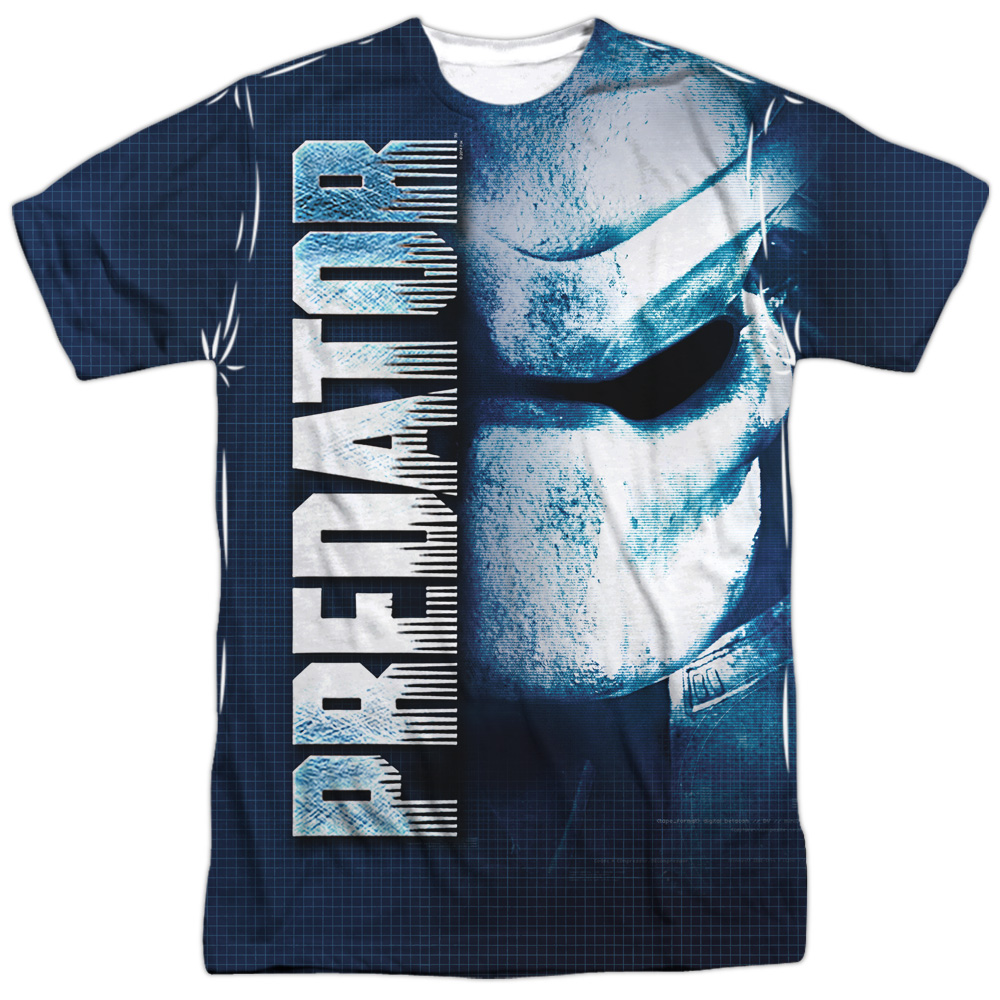 Predator Movie Active Camo Allover Sublimation Licensed Adult T-Shirt