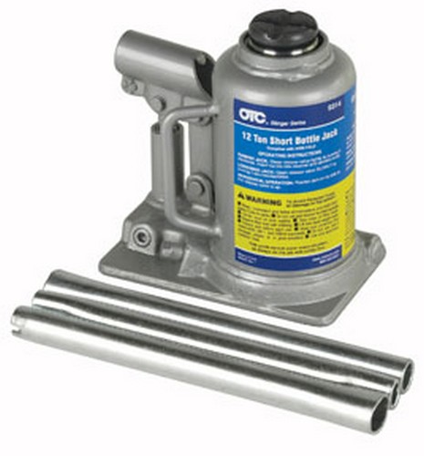 OTC Tools & Equipment 9314 Short Bottle Jack, 12-Ton