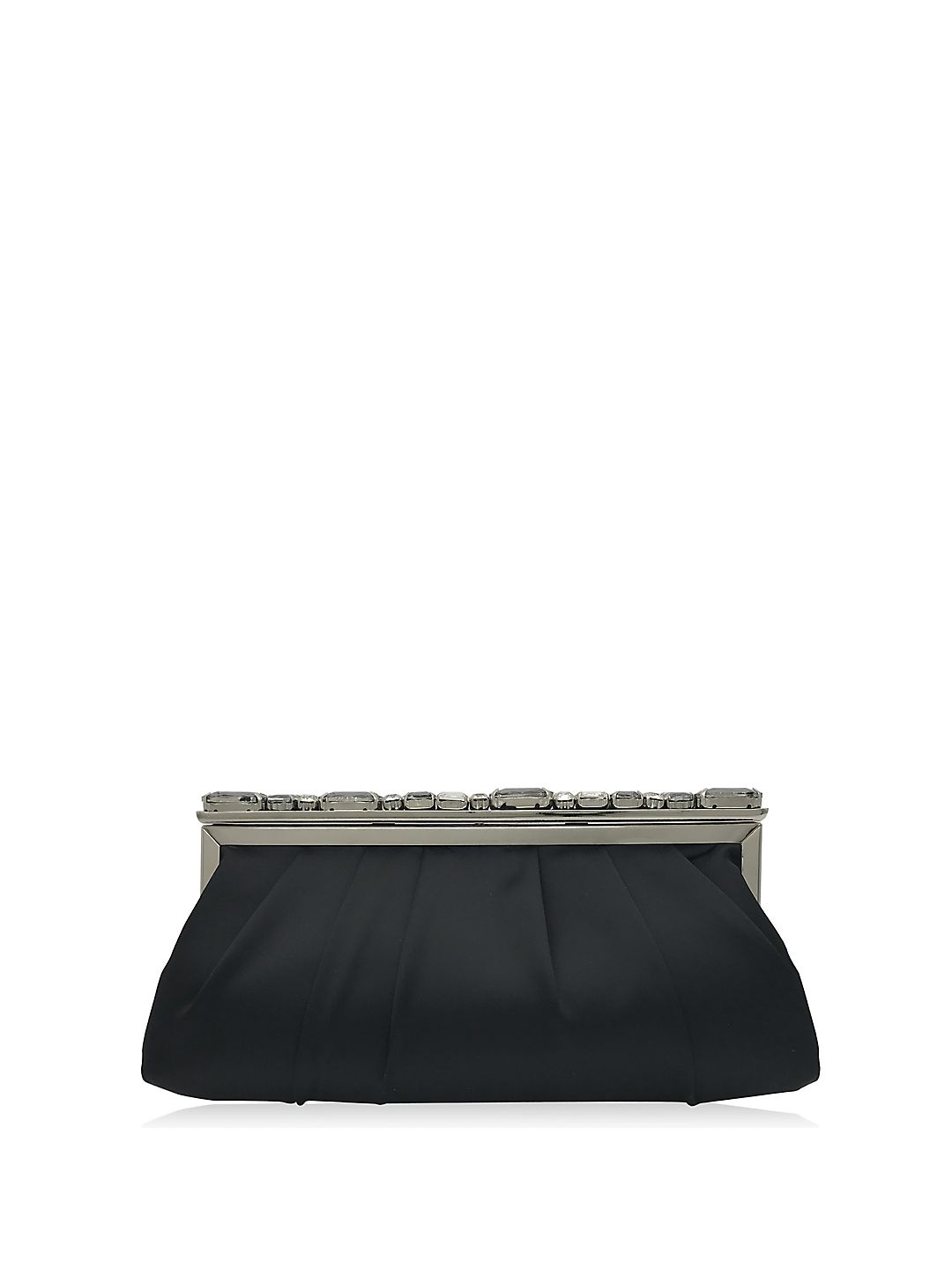 Kit Satin Embellished Convertible Clutch