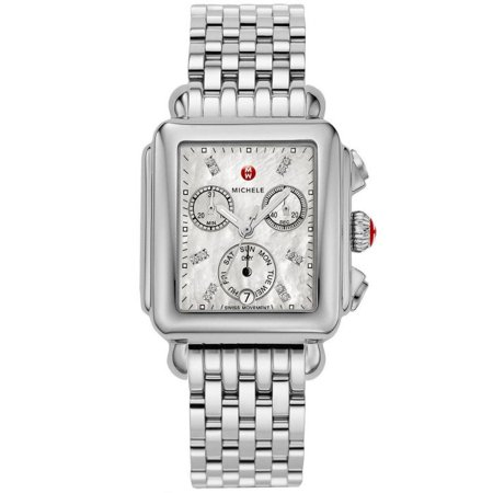 Michele Deco MWW06T000141 Madison Diamond Dial Watch ()