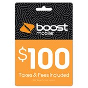 Boost Mobile $100 e-PIN Top Up (Email Delivery)