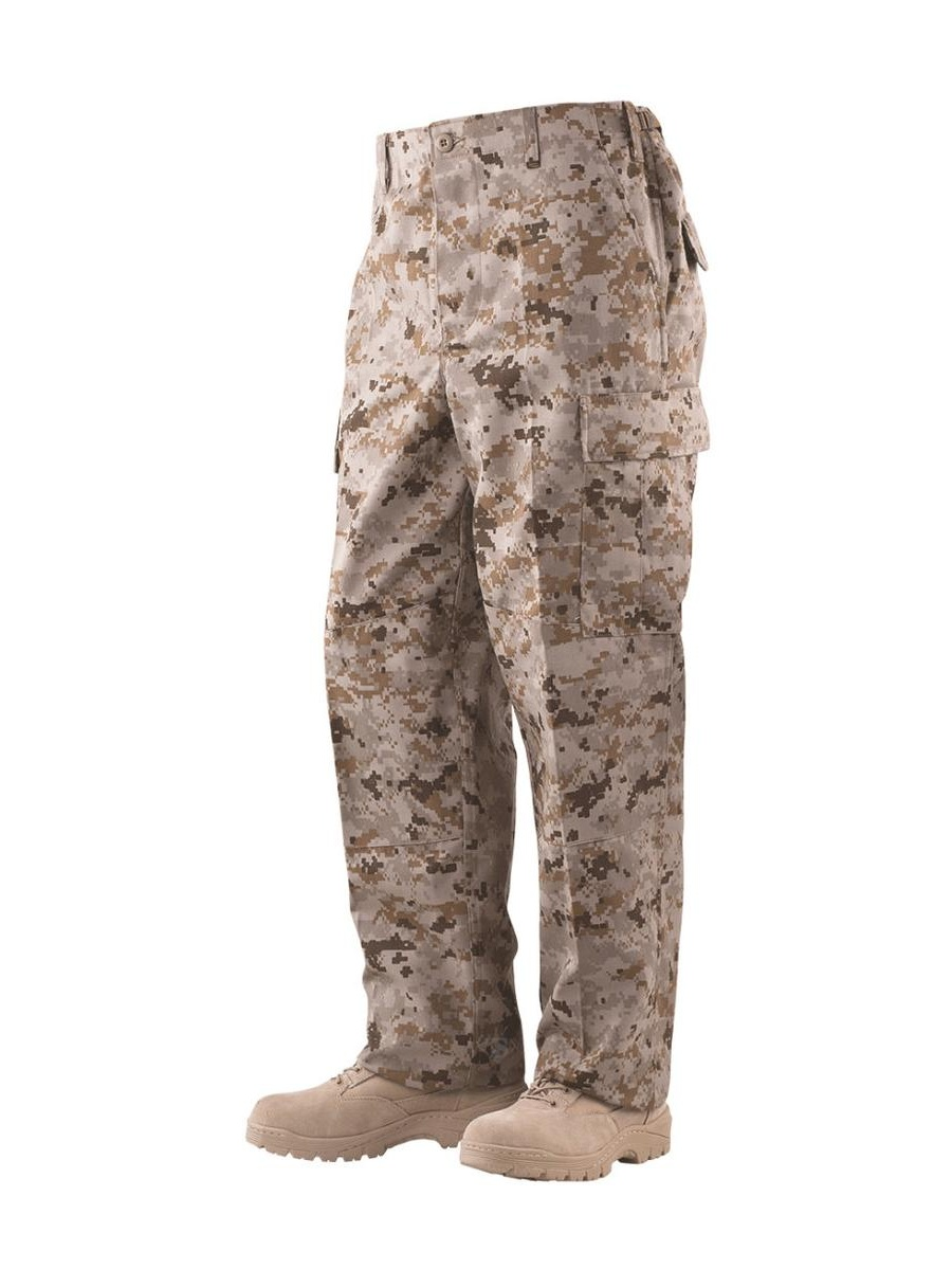 1934 Vat Print Digital Trousers, Desert Digital Camo