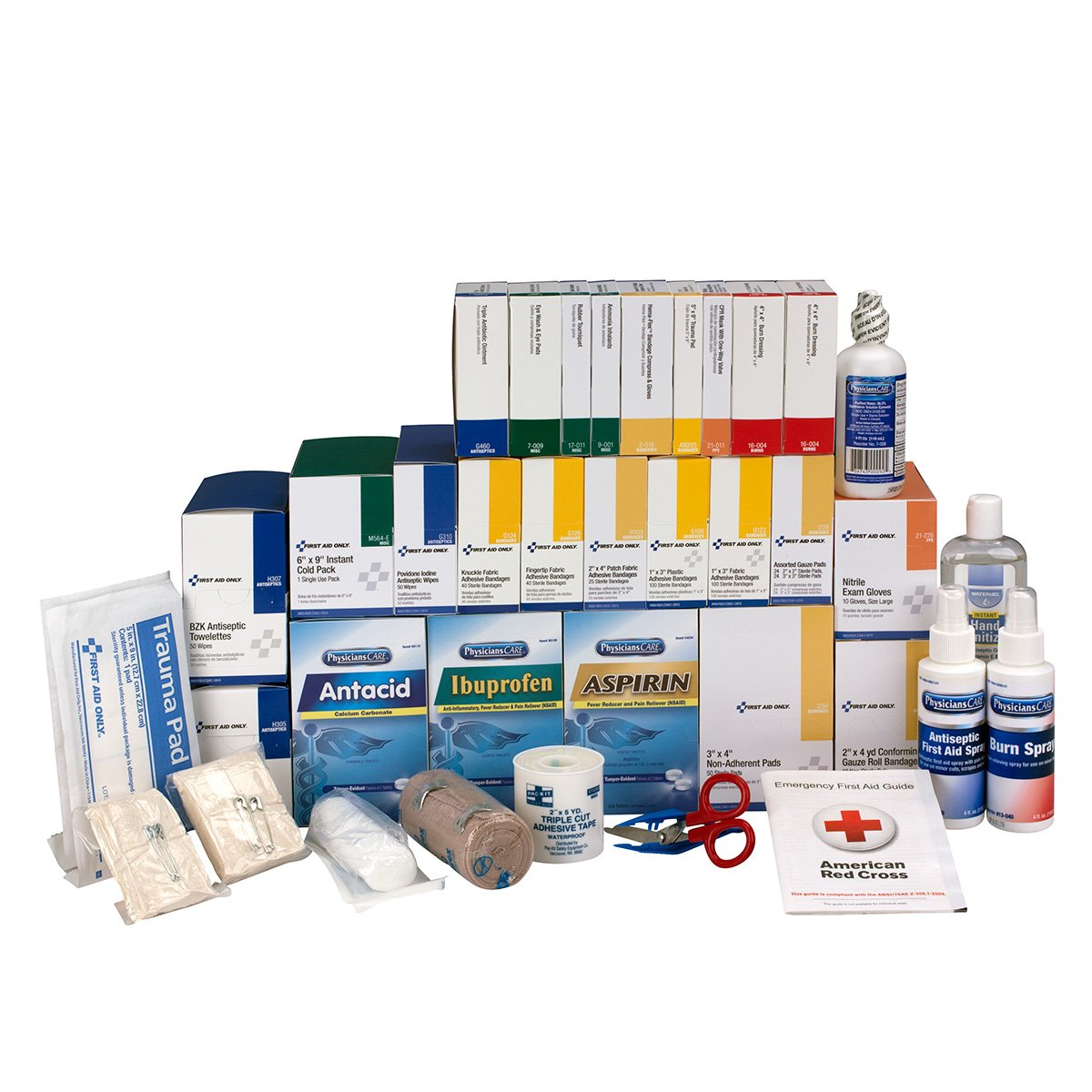 First Aid Only Inc 90625 4 Shelf Ansi Class B+ Refill With Medications, 1427 Pieces