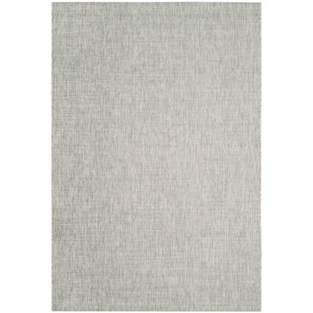 """Safavieh Courtyard 2'3"""" X 12' Power Loomed Rug in Gray and Turquoise - image 2 de 8"""