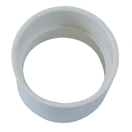 Central Vacuum Coupling - Built in Vacuum Pipe Fitting - Coupling/Coupler Vacuum PVC Fitting - Central Vacuum Pipe Fitting
