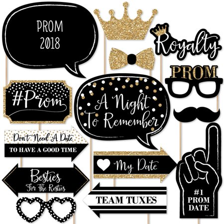 Grease Prom Theme (Prom - 2018 Photo Booth Props Kit - 20)