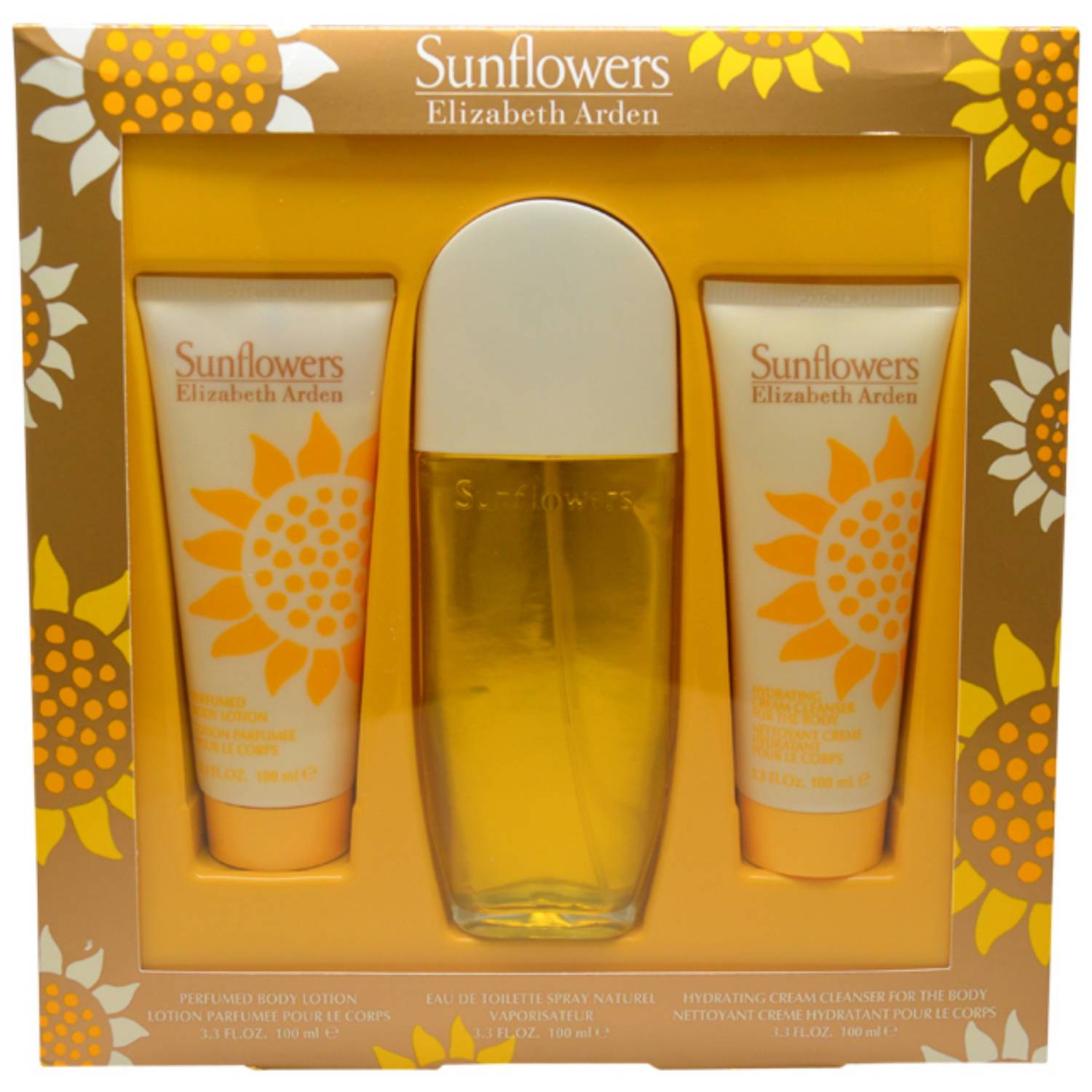 Elizabeth Arden Sunflowers Gift Set, 3 pc
