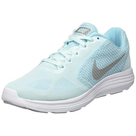 best website 0e870 3e9d3 NIKE Women s Revolution 3 Running Shoe, Glacier Blue Silver Still ...