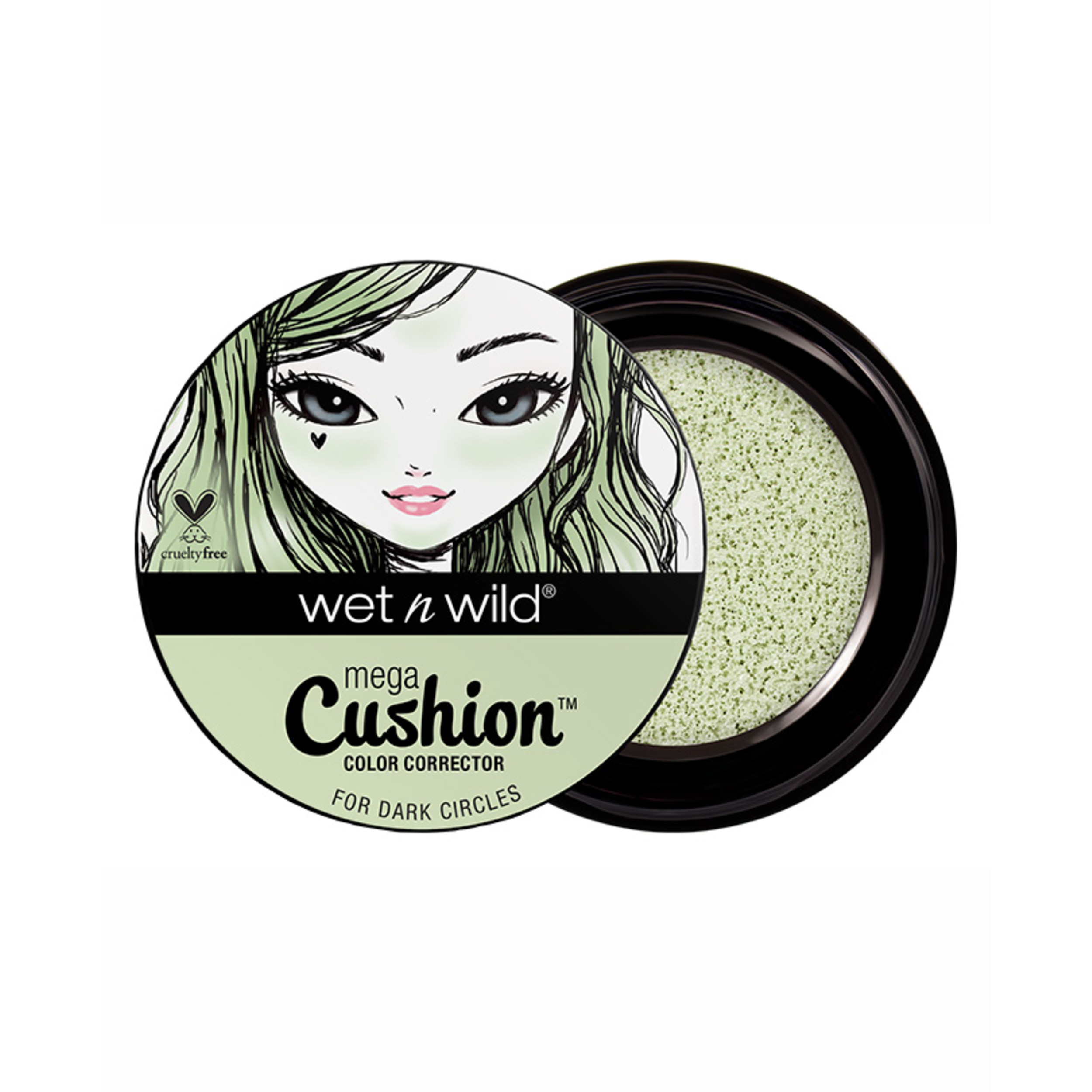wet n wild MegaCushion Color Corrector Concealer, Yellow