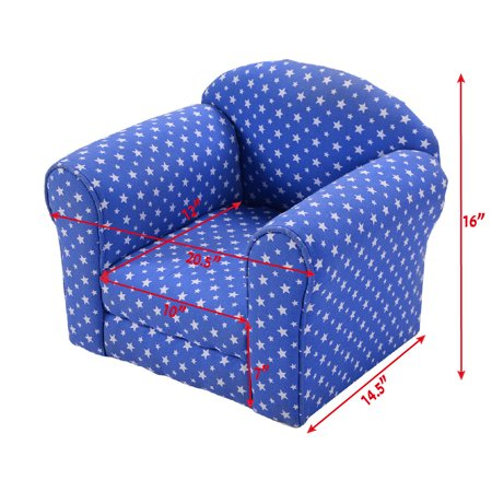 Costway Kid Sofa Armrest Chair Couch Child Living Room