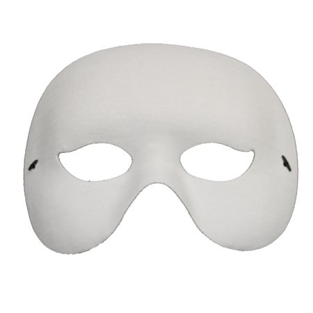 OPERA VENETIAN PARTY MASK - Phantom Masks - MASQUERADE - White Masquerade Masks For Men