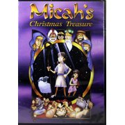 Micah's Christmas Treasure NEW DVD Christian Children's Animated Movie