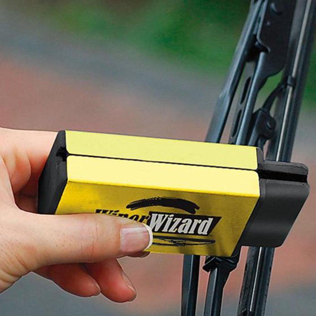 Car Wiper Cleaning Washing Brush Car Wizard Windshield Wiper Blade Cleaner