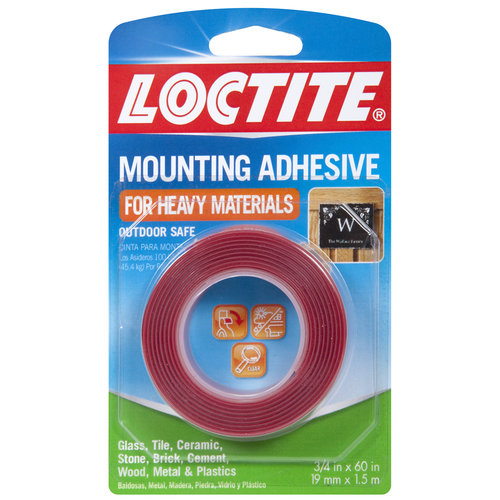 """Loctite  Mounting Tape, 0.75"""" x 60"""""""