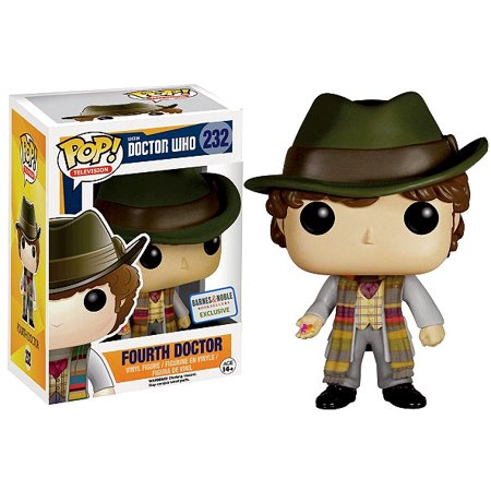 Doctor Who Funko POP! Television Fourth Doctor Vinyl Figure [Holding -