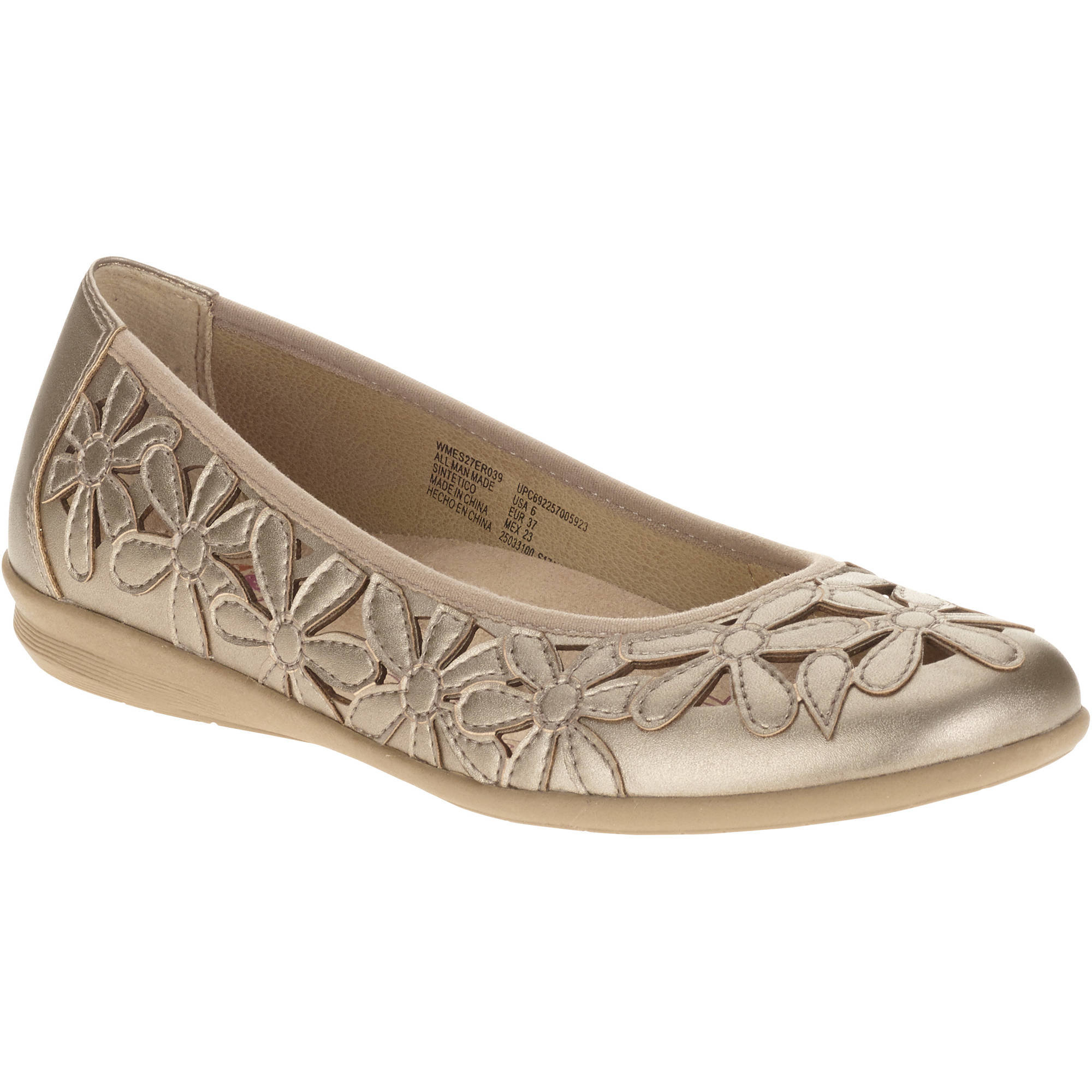 Earth Spirit Women's Flower Ballet Flat by