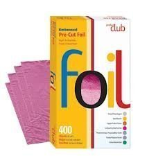 "Product Club Ef400-fs 400 Ct Embossed Pre Cut Foil 5""x8"" Fuschia"