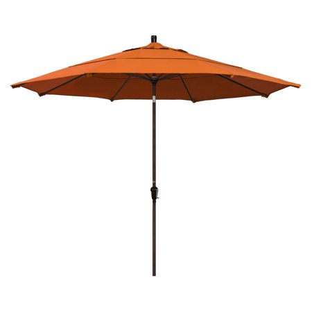 California Umbrella 11 ft. Aluminum Auto Tilt Patio Umbrella ()