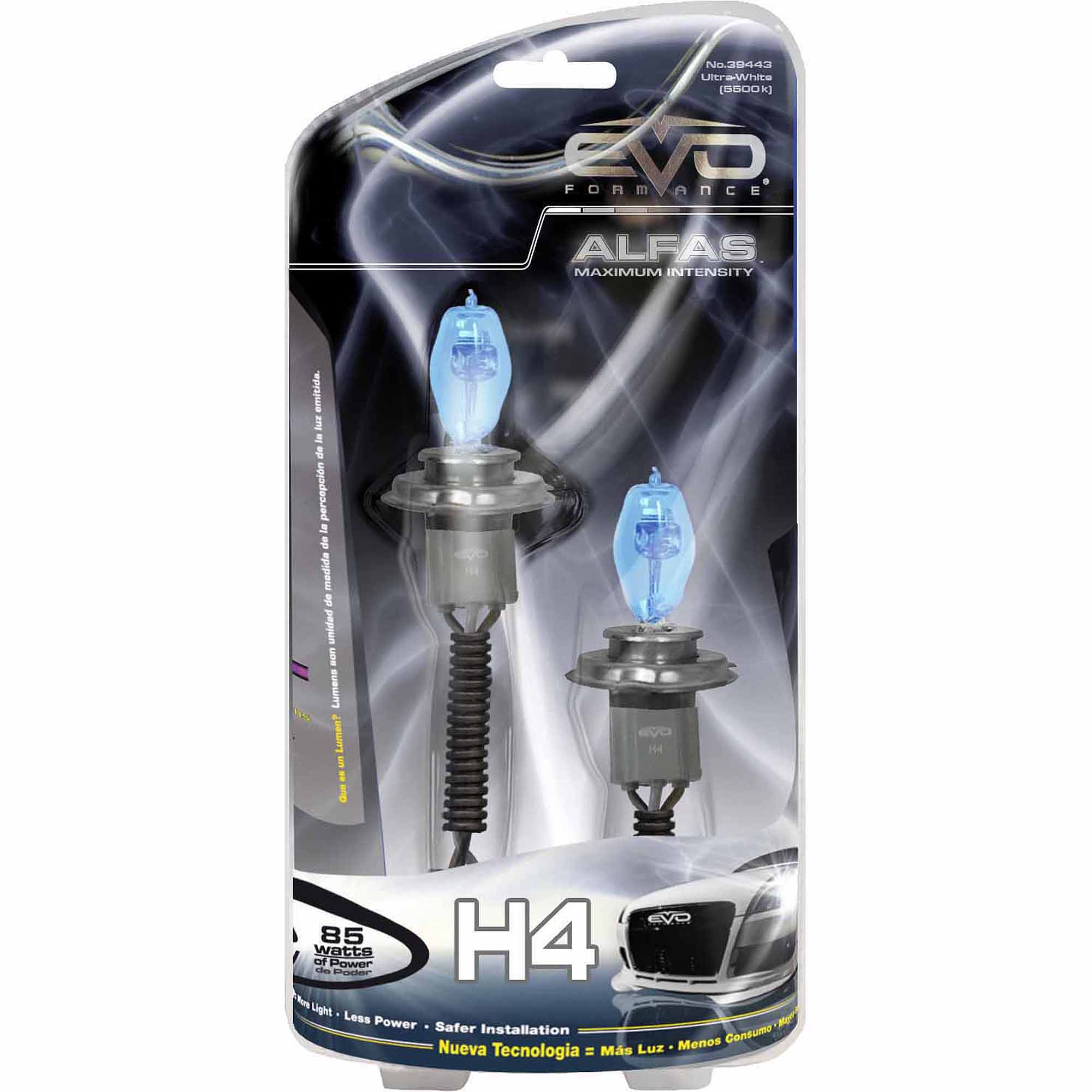 CIPA Alfas Maximum Intensity H4 Halogen Headlight Bulbs