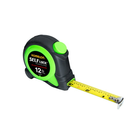 Komelon WSL2812 12-Foot Self-Lock Tape Measure