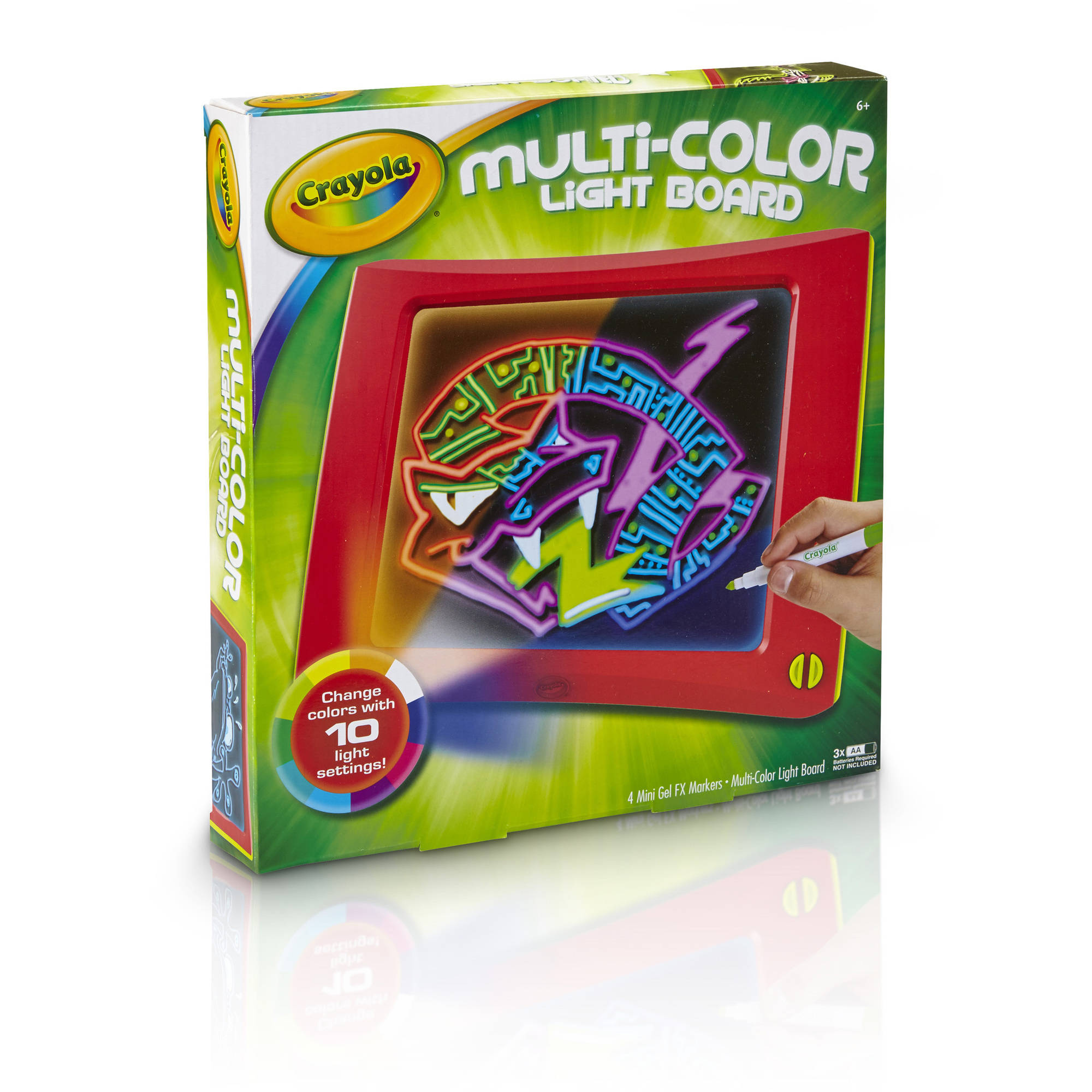 Crayola Multi-Color Light Board with Gel FX Markers