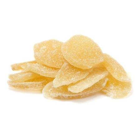 Sweet Crystallized Ginger (Dried Crystallized Ginger by It's Delish, 2.5 lbs )