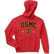 Men's Military Officially Marine Fleece Traditional Hoodie