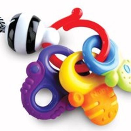 Nuby Multi-Surface Fun Key - Teether Keys