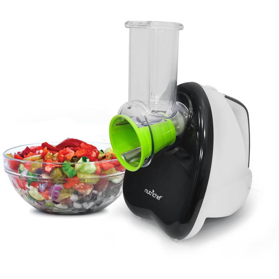 NutriChef Salad Shooter/Salad Maker/Electric Slicer, Chopper, Grater, Shredder