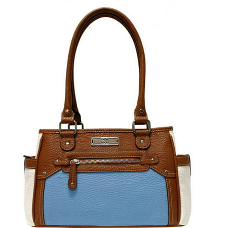 2511e47d44 George - Women s East West Logan Satchel - Walmart.com