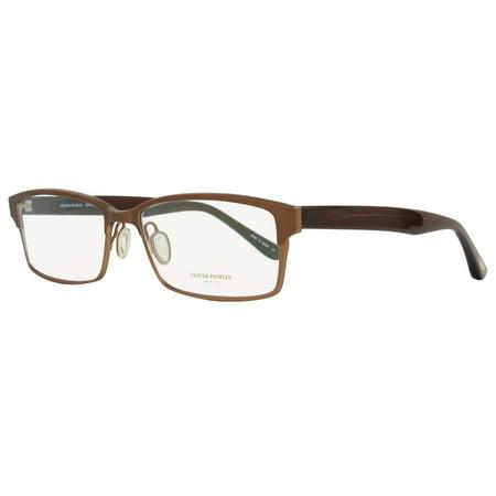 Oliver Peoples Rectangular Eyeglasses OV1055T Coban  5013 Size: 54mm Copper/Brown (Oliver Peoples Eyeglasses)