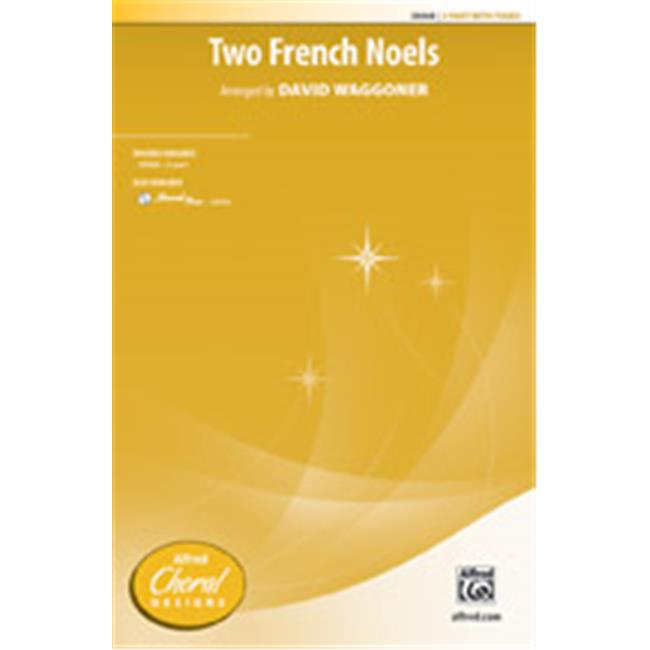 Alfred 00-38069 TWO FRENCH NOELS-STRX CD by Alfred