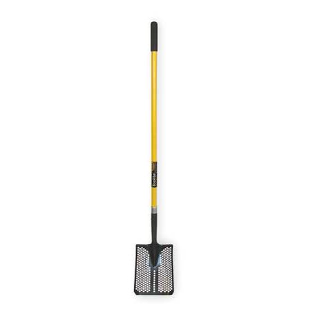 SEYMOUR MIDWEST TOOLITE 49502GR Mud/Sifting Square Shovel,48 In. Handle
