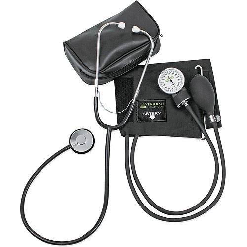 Veridian Health Manual Blood Pressure Monitor with Stethoscope