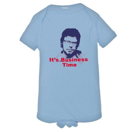 PleaseMeTeesTM Baby Its Business Time Flight The Conchords Murray Onsie