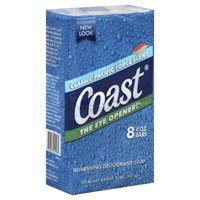 Coast® Classic Scent Refreshing Deodorant Soap 8-4 oz. Bars