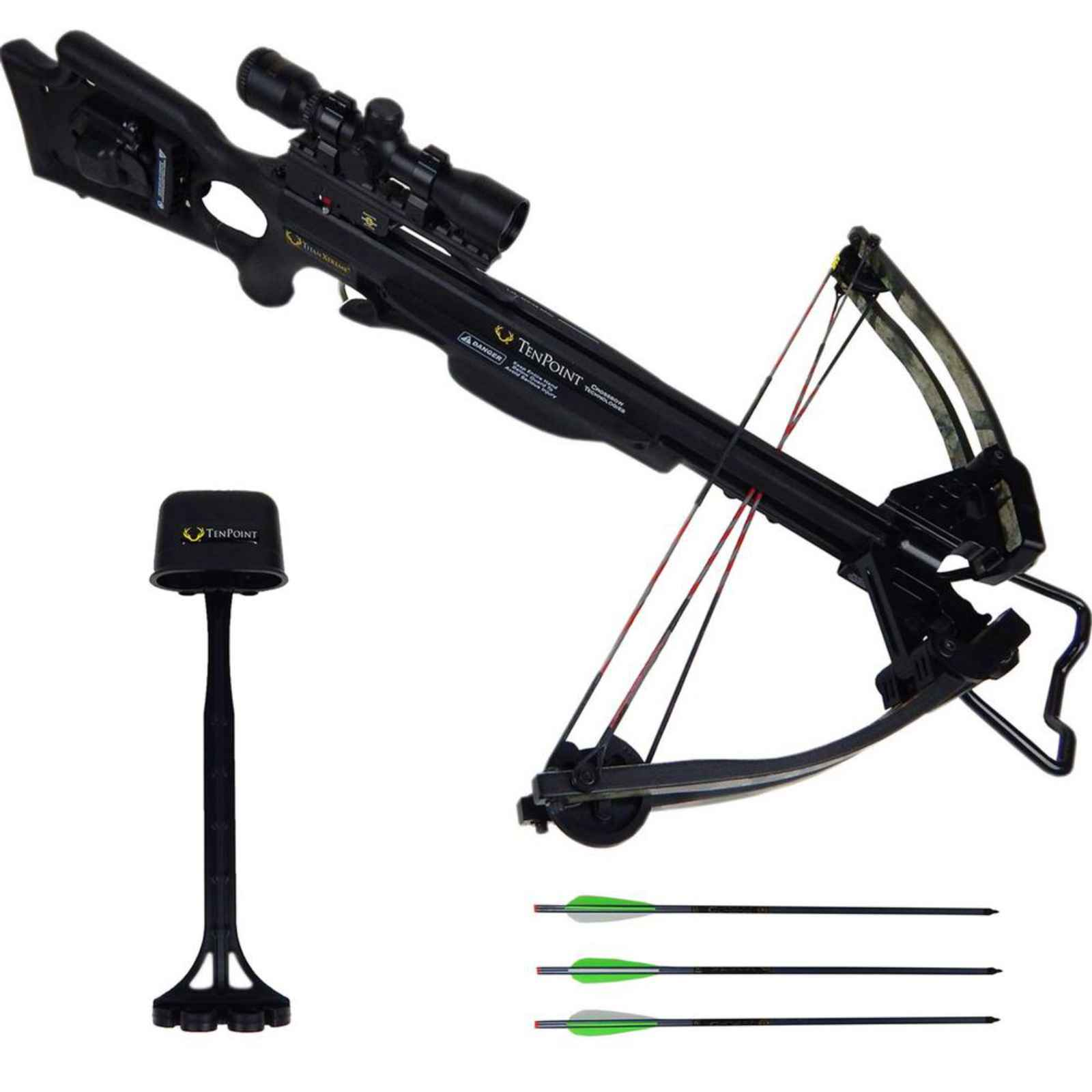 Tenpoint Titan Xtreme Crossbow Scope Package AcuDraw 50 B...