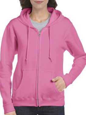 e95e6596318e1 Product Image Gildan Women's Full Zip Fleece Hoodie