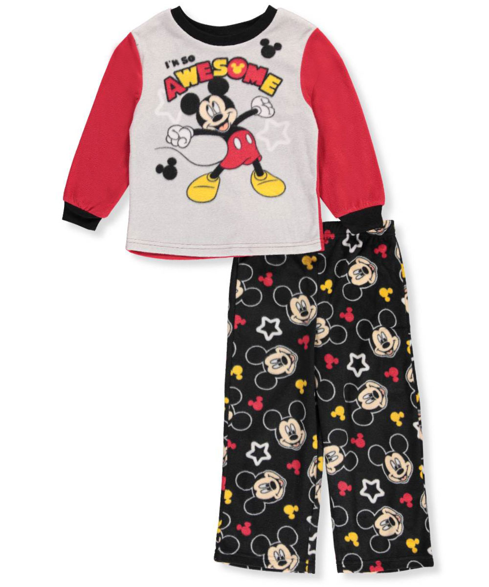 eeab80945 Mickey Mouse Little Boys  Toddler 2-Piece Pajamas (Sizes 2T - 4T ...