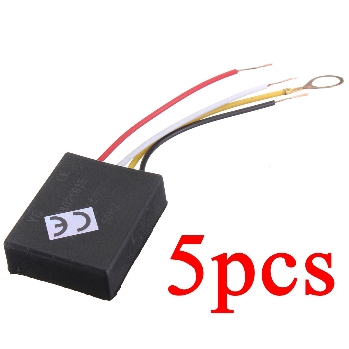 5Pcs AC110V-240V 3-Way Touch Switch Control Sensor Bulb Dimmer Parts For Table Desk Light Lamp
