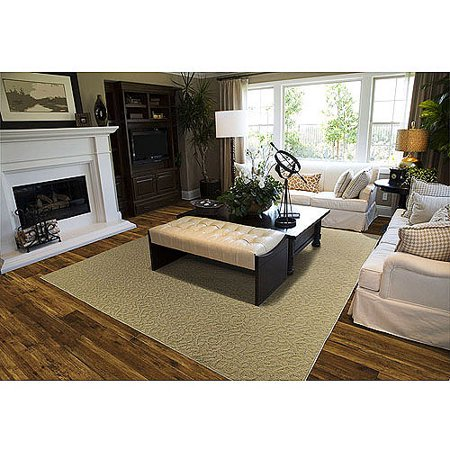 garland ivy pattern area rug. Black Bedroom Furniture Sets. Home Design Ideas