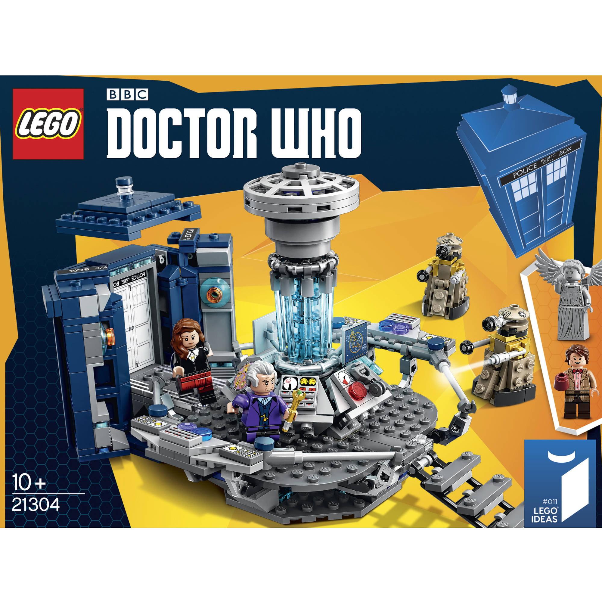 sc 1 st  Walmart & LEGO Doctor Who TARDIS Set 21304 - Walmart.com