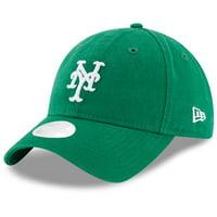 New York Mets New Era Women's Core Classic Twill St. Patrick's Day 9TWENTY Adjustable Hat - Green - OSFA