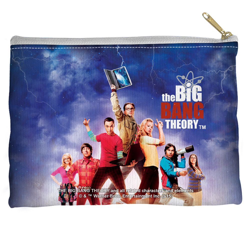 Big Bang Theory Poster Accessory Pouch White 12.5X8.5