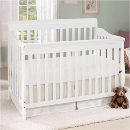 Baby Time International, Inc. Big Oshi Stephanie 4-in-1 Convertible Crib