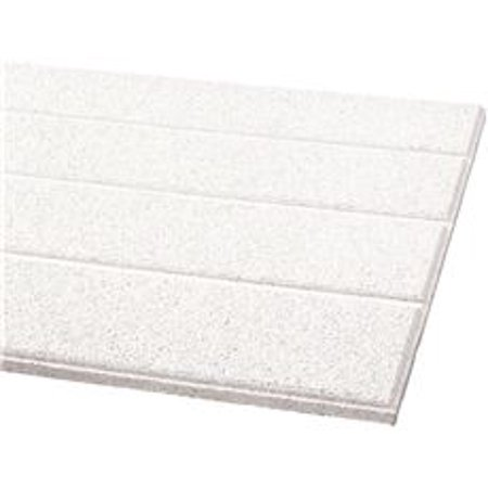 ARMSTRONG ACOUSTICAL CEILING TILE 511A CIRRUS SECOND LOOK III HUMIGUARD PLUS, 24X48X3/4 IN, 6 PER C