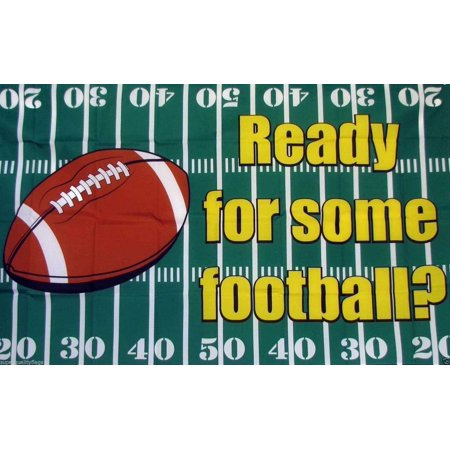Deyou Are You Ready For Some Football Monday Night Flag 3X5 Feet Banner Flag